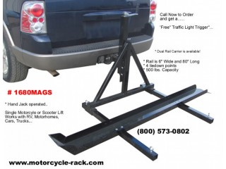 Motorhome Motorcycle Carrier