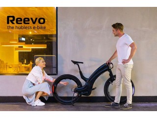 Reevo : The Hubless E-Bike Style, security & safety for the modern urban cyclist.